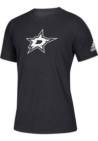 Dallas Stars Adidas Stadium T Shirt - Black