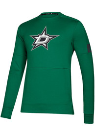 Dallas Stars Adidas Game Mode Sweatshirt - Kelly Green
