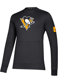 Pittsburgh Penguins Adidas Game Mode Sweatshirt - Black