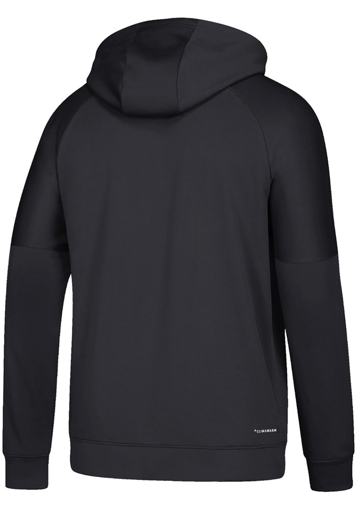 Adidas Chicago Blackhawks Mens Black Team Bar Hood - Image 2
