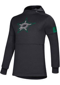 Dallas Stars Adidas Game Mode Hood - Black