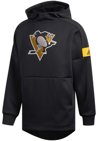 Pittsburgh Penguins Adidas Game Mode Hood - Black