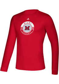 Miami RedHawks Adidas Creator Face Off T-Shirt - Red