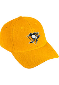 Pittsburgh Penguins Adidas Primary Structured Flex Hat - Gold