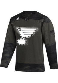 St Louis Blues Adidas Military Appreciation Hockey Jersey - Green