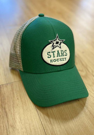Dallas Stars Adidas STR Trucker Adjustable Hat - Green