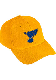 St Louis Blues Adidas Primary Structured Flex Hat - Gold
