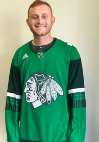 Chicago Blackhawks Adidas 2020 St. Patricks Day Authentic Hockey Jersey - Green