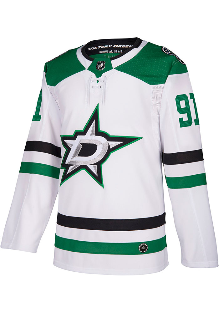 Adidas Tyler Seguin Dallas Stars Mens White Authentic Hockey Jersey - Image 2