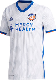 FC Cincinnati Adidas 2020 Secondary Authentic Soccer - White