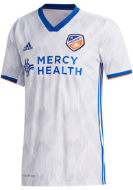 FC Cincinnati Adidas 2020 Secondary Replica Soccer - White