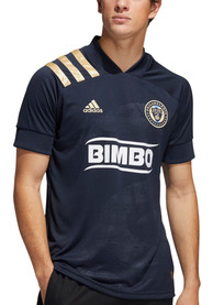Philadelphia Union Adidas 2020 Primary Replica Soccer - Navy Blue