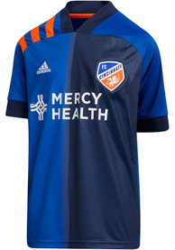 FC Cincinnati Youth Adidas 2020 Primary Soccer Jersey - Blue