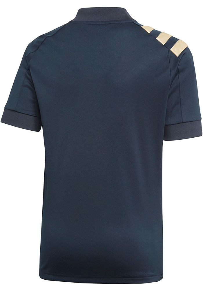 Adidas Philadelphia Union Youth Navy Blue 2020 Primary Soccer Jersey - Image 2