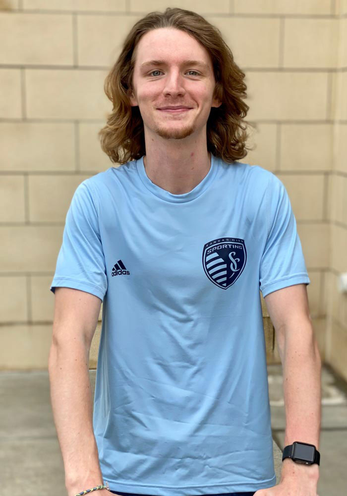 Adidas Sporting Kansas City Light Blue Iconic Short Sleeve T Shirt - Image 3
