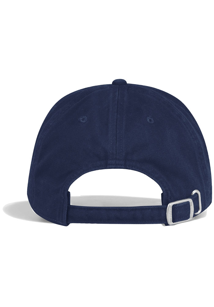 Adidas St Louis Blues Slouch Adjustable Hat - Navy Blue - Image 3