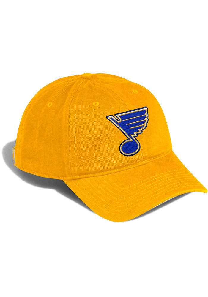 Adidas St Louis Blues Slouch Adjustable Hat - Gold - Image 2