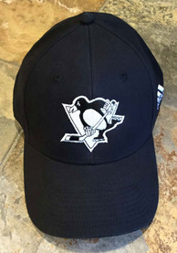 Pittsburgh Penguins Adidas Glow Flex Hat - Black