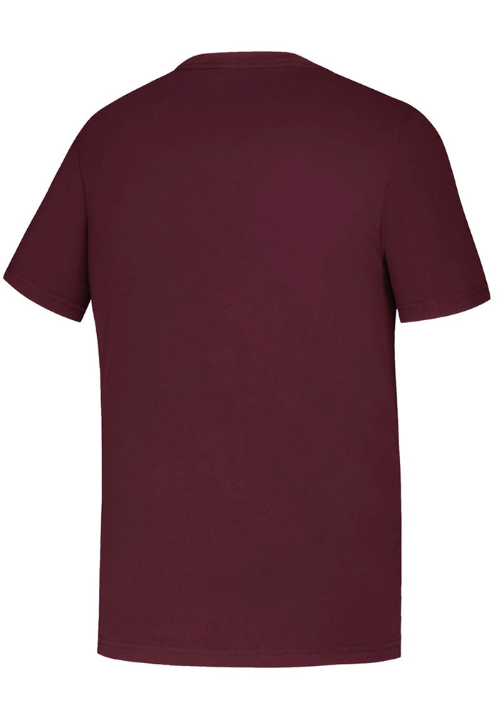 Adidas Texas A&M Aggies Youth Maroon LR Wordmark Short Sleeve T-Shirt - Image 2