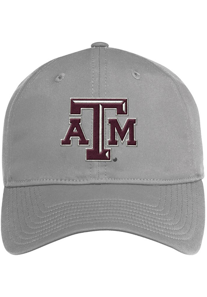 Adidas Texas A&M Aggies 2020 Sideline Coach Slouch Adjustable Hat - Grey - Image 2