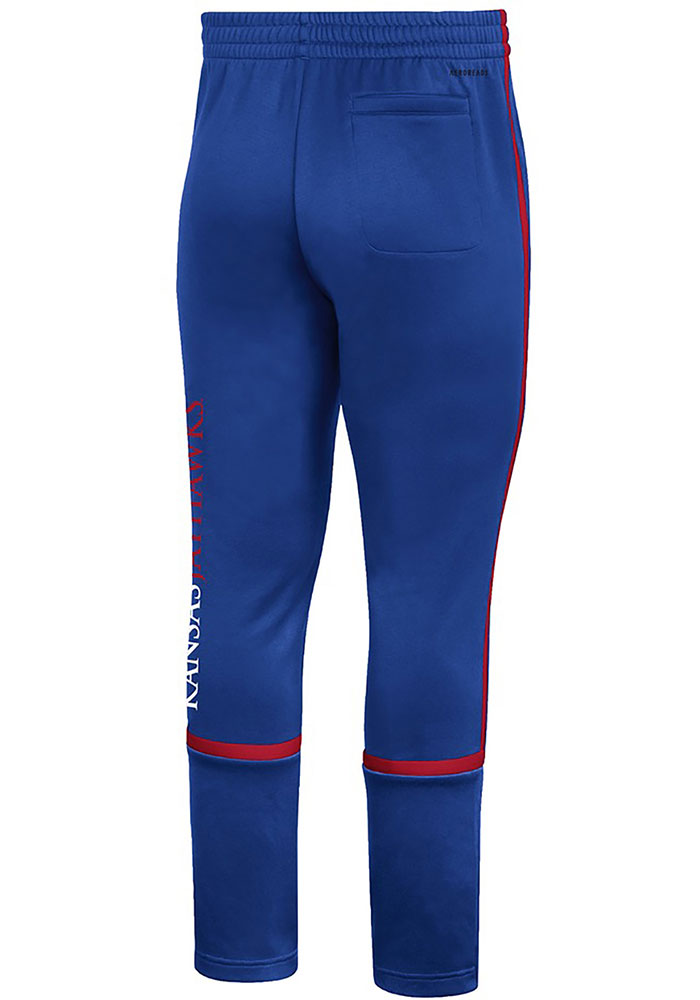 Adidas Kansas Jayhawks Mens Blue Under The Lights Pants - Image 2