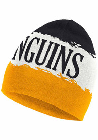 Pittsburgh Penguins Adidas Reverse Retro Cuffed Knit - White