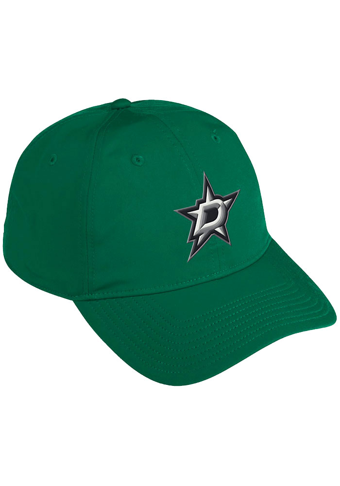 Dallas Stars Adidas Coach Slouch Adjustable Hat - Green