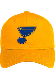 St Louis Blues Adidas Coach Slouch Adjustable Hat - Yellow