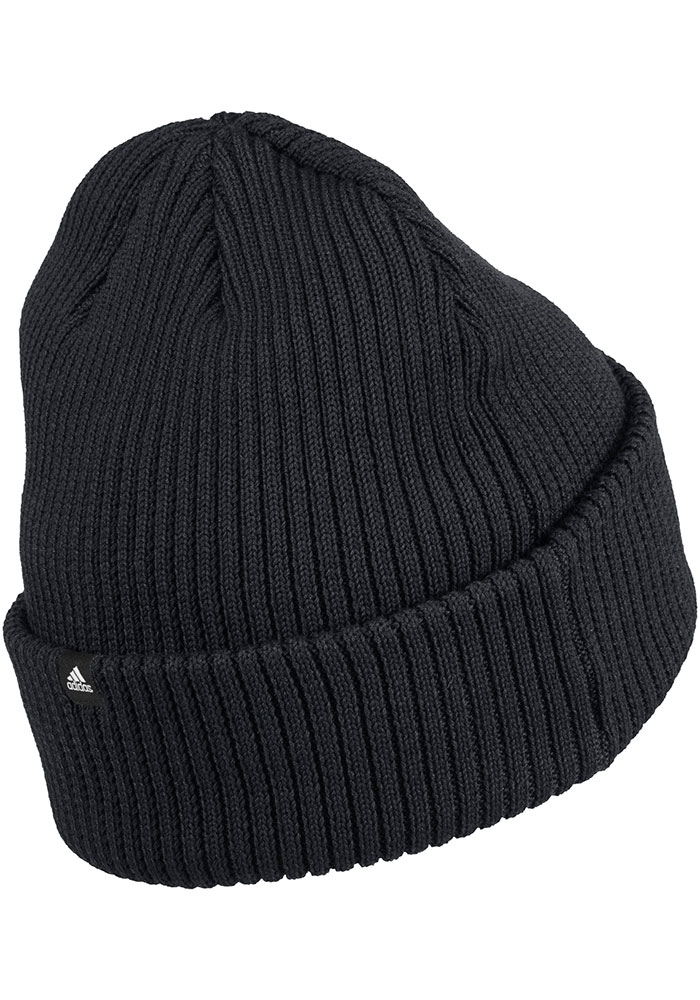 Adidas Detroit Red Wings Black W Cuffed Beanie Womens Knit Hat - Image 2