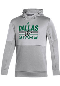 Dallas Stars Adidas Hockey Grind Hood - Grey