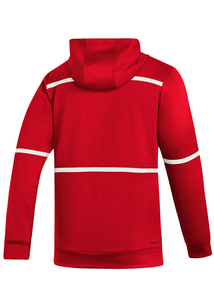 Adidas Detroit Red Wings Mens Red Under the Lights Hood - Image 2