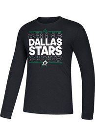 Dallas Stars Adidas Dassler NHL Remix T Shirt - Black