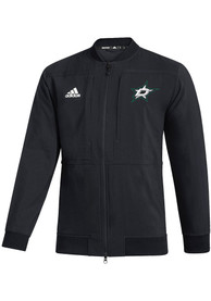 Adidas Dallas Stars Black Under The Lights Bomber Zip