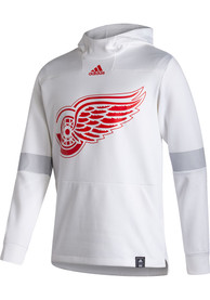 Detroit Red Wings Adidas Under The Lights Hood - White