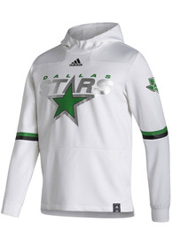 Dallas Stars Adidas Under The Lights Hood - White