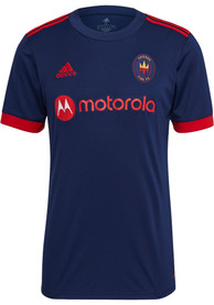 Chicago Fire Adidas 2021 Primary Replica Soccer - Red