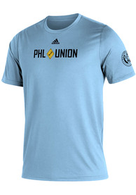 Philadelphia Union Adidas Kickoff T Shirt - Blue