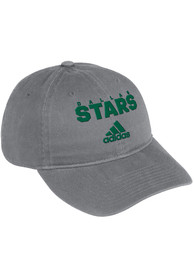 Dallas Stars Adidas Wordmark Adjustable Hat - Grey