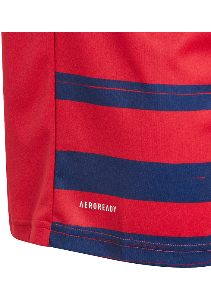 Adidas FC Dallas Youth Red Primary Replica Soccer Jersey - Image 3
