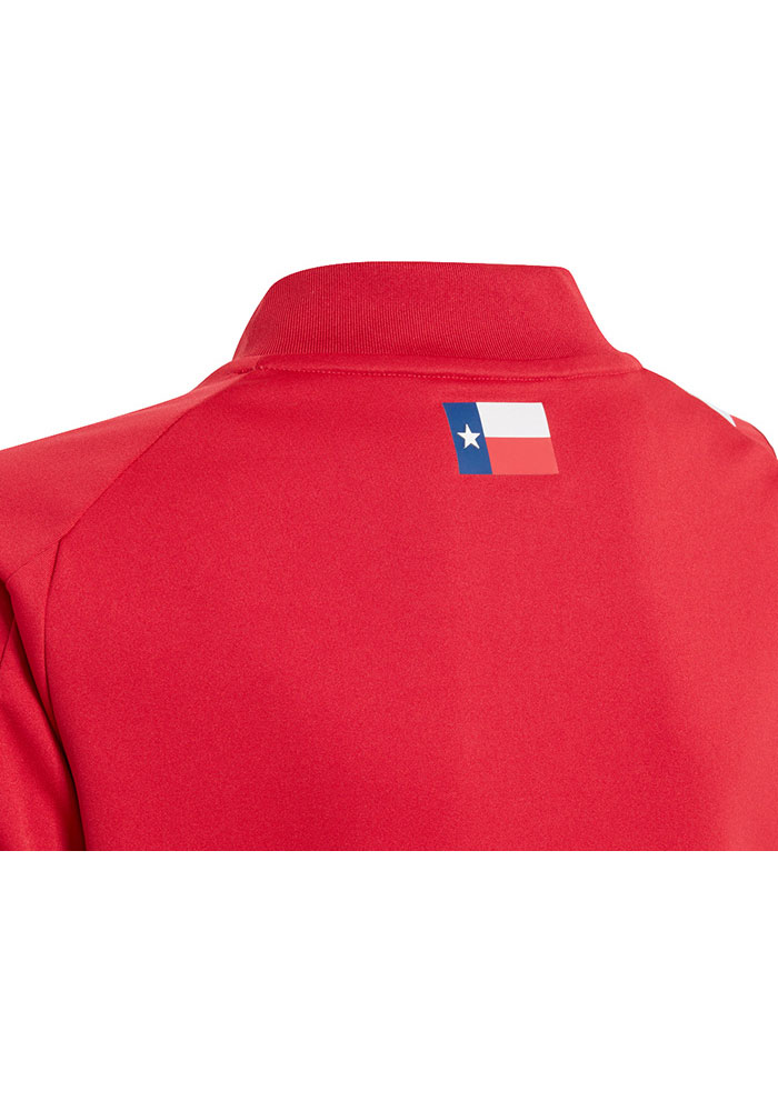 Adidas FC Dallas Youth Red Primary Replica Soccer Jersey - Image 5