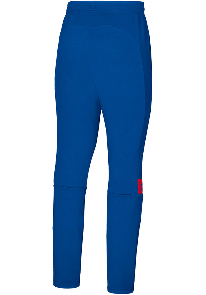 Adidas Kansas Jayhawks Mens Blue Sideline Game Mode Pants - Image 3