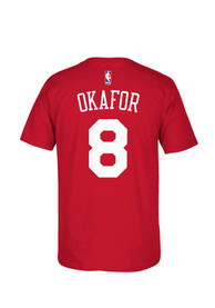 Jahlil Okafor Philadelphia Red Player Tee