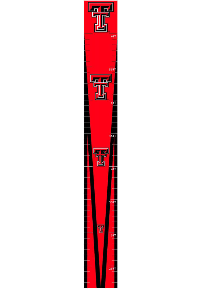 Texas Tech Red Raiders Growth Chart Wall Decal - Image 1