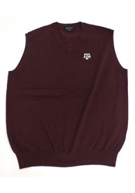 Texas A&M Aggies Mens Maroon Logo Sweater Vest