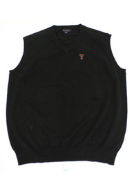Texas Tech Red Raiders Logo Sweater Vest - Black