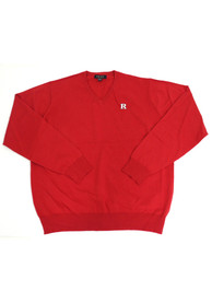 Rutgers Scarlet Knights Mens Red Logo Sweater