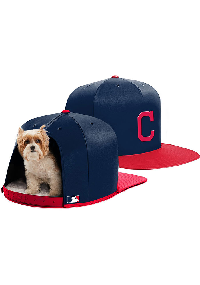 Cleveland Indians Small Nap Cap Pet Bedding - Image 1