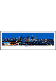 Dallas Ft Worth Panoramic Picture Framed Posters