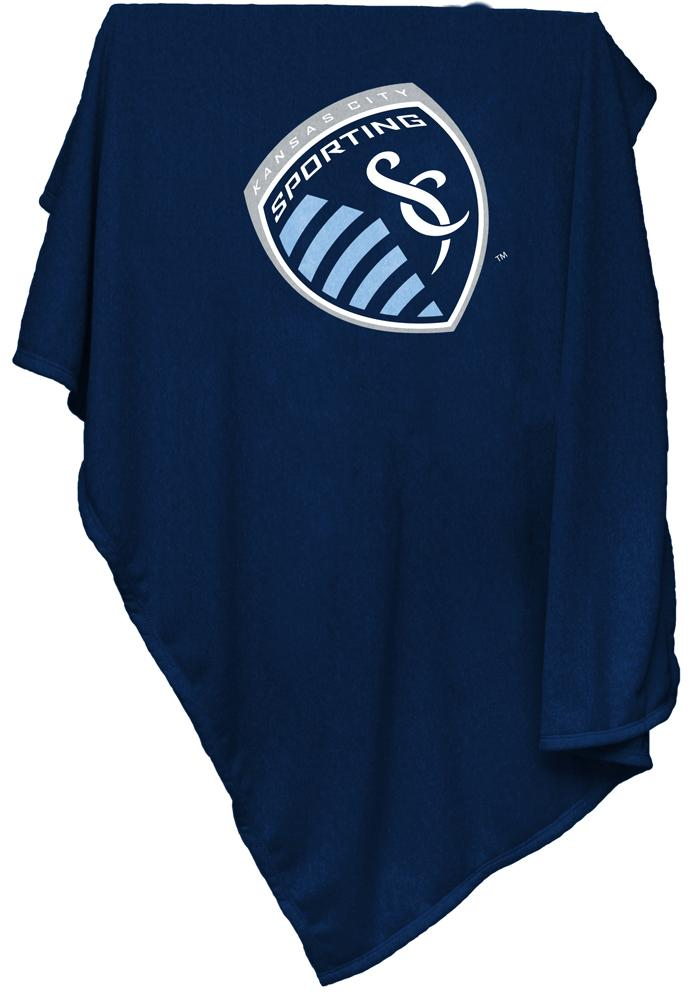 Sporting Kansas City Team Logo Sweatshirt Blanket - Image 1
