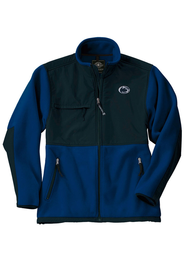 Penn State Nittany Lions Youth Navy Blue Evolux Fleece Light Weight Jacket - Image 1